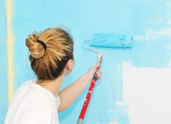 sơn nhà cũ